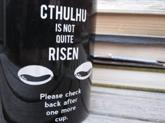 Cthulhu is not quite risen