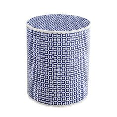 Natural Bone & Faded Blue Inlay Mosaic Design Drum Table Powell Furniture, Blue Furniture, Coaster Furniture, Home Decor Furniture, Drum Table, Chair Side Table, Side Tables, Glass Top End Tables, Home Themes