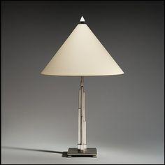 Table lamp made in New York in 1928. Walter von Nessen (American (born Germany), Berlin 1899–1943 Wiscasset, Maine)
