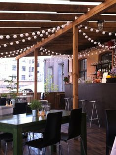Eco Catering terrace, Matīsa iela 8.