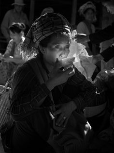 Le thé en Birmanie de Marc Erwin Babej, photographe allemand. Cette photo est sublime !