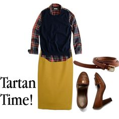 """""""Tartan Time!"""" by silver-lining on Polyvore"""