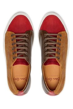 Casual Shoes Handmade Women Sneakers Suede Leather, Brown Green and Red Casual Shoes, Suede Shoes Handmade, Women Sneakers Suede Leather Brown Sneakers, Leather Sneakers, Shoes Sneakers, Cow Leather, Suede Leather, Leather Key Holder, Shoes Handmade, Khaki Green, Cotton Bag