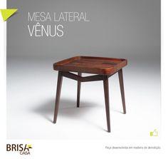 Linha Vênus - Mesa lateral