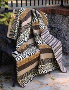 1000 Images About Animal Print Quilt Ideas On Pinterest