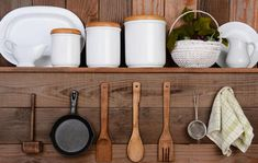 Do you have a tiny kitchen and love decorating it? Check out this article with 10 Storage Hacks to Make the Most of Your Tiny Kitchen! Rustic Kitchen, Diy Kitchen, Kitchen Design, Kitchen Display, Kitchen Ideas, Kitchen Storage, Kitchen Tools, Kitchen Cabinets, Indian Kitchen