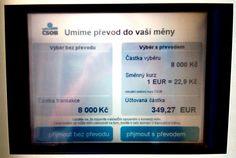"""Tomáš Dvořák on Twitter: """"Směnárny v Praze že okrádají turisty? Co teprv @CSOB_CZ, ta to dělá profesionálně a ve velkém! Je libo 22,9 Kč za jedno Euro? https://t.co/f63fFT3gTj"""""""