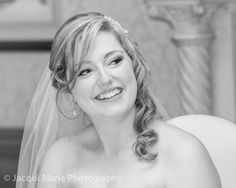 Gorgeous bride listening to her speeches, photographed by Hampshire wedding photographers Jacqui Marie Photography. VISIT http://jacqui-marie-photography.co.uk for details.  #wedding #photography #weddingphotography #Hampshire #England #uk