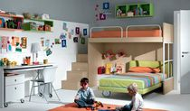 lit d'angle superposé pour enfant (mixte) GABDD021 GAB