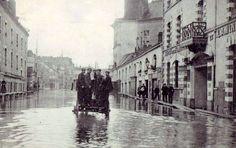 1910-Inondation Nantes rue Lamoricière