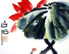 齊白石 ( Qi Bai - Shi, 1863-1957 )