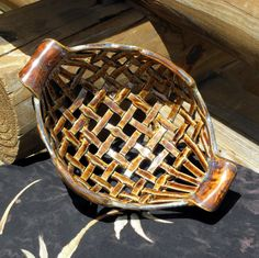 Hey, I found this really awesome Etsy listing at https://www.etsy.com/listing/201064800/hand-crafted-ceramic-bread-basket
