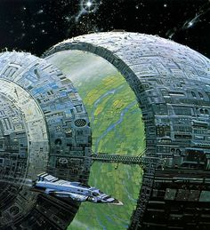 Spacegoing Earth: a painting by Angus McKie conceptart concept photography sketches scifi steampunk steam punk purse fashion yolo bonetech3d cgi landscapes scenery digital anime mech enviroment character concepts