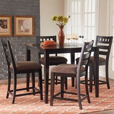 You'll love the Sparkle 5 Piece Counter Height Dining Set at Wayfair - Great Deals on all Furniture products with Free Shipping on most stuff, even the big stuff.