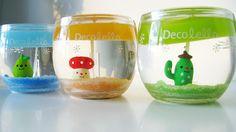 Decolello gel candles
