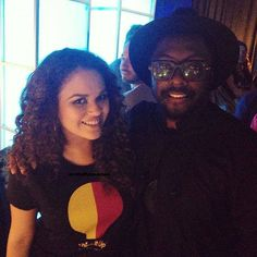 Madison Pettis and Will.I.Am September 12,2015