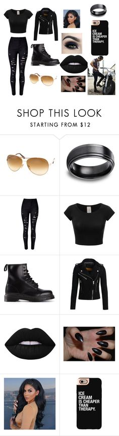"""""""ride with harry"""" by royal727 on Polyvore featuring Tom Ford, WithChic, Dr. Martens, Superdry, Lime Crime, Too Faced Cosmetics and Casetify"""