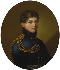 Portrait of Count Karl Hermann von Wylich-Lottum - Johann Friedrich Bury - German - 1809