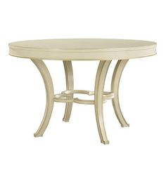 Collier Dining Table Top & Base from the Suzanne Kasler collection by Hickory Chair Furniture Co.
