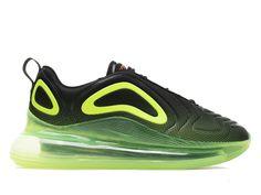 buy popular 03ae1 708c6 Official Nouveau Nike Air Max 720 Coussin Dair Chaussures De Course Pas  Cher Hommes Vert noir