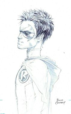 Robin by Frank Quitely