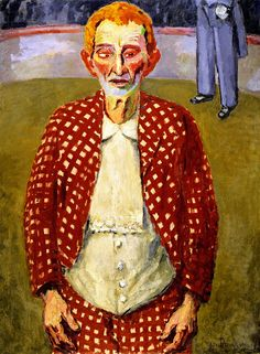 The Old Clown Artwork by Kees Van Dongen Ernst Ludwig Kirchner, Henri Matisse, Art Fauvisme, Art Du Cirque, Art Postal, Raoul Dufy, Great Works Of Art, Georges Braque, Dutch Painters