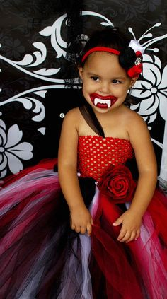 The Trubie True Blood Vampire Inspired Tutu by WildHeartsBoutique, $50.00