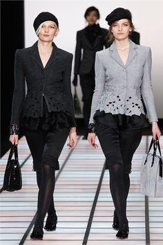 Sfilata Emporio Armani Milano - Collezioni Autunno Inverno 2012-13 - Vogue