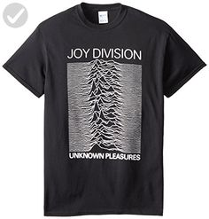 Impact Men's Joy Division Unknown Pleasures T-Shirt, Black, Small - Cool and funny shirts (*Amazon Partner-Link)