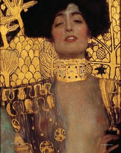 Gustav Klimt was a painting genius and pioneer of the Modern Era around would have celebrated his birthday this year. Klimt spent most of his life in Vienna. Gustav Klimt, Art Klimt, Klimt Judith, Art Nouveau, Art Ancien, Expositions, Caravaggio, Medium Art, Framed Art Prints