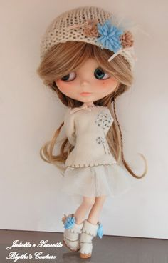 Blythe outfit sweet dandelion set t with par juliettaexussetta