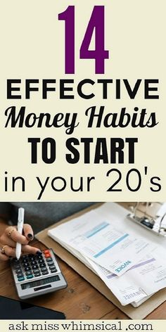 14 Financial Habits To Start In Your 20s (learn how to make money, save money, and earn money). Start developing the right money habits to become rich in your 20s. Start becoming rich today with these money management tips. making money tips | saving money tips | how to be rich | personal finance tips #personalfinance #frugal #frugalliving #savingmoney #millennial #savemoney Save Money On Groceries, Ways To Save Money, Make More Money, Money Saving Tips, Money Tips, Earn Money, Money Budget, Money Hacks, Financial Stress
