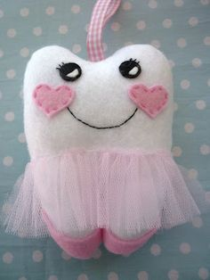 TOOTH FAIRY like this version with the tulle skirt and heart cheeks.  -ad