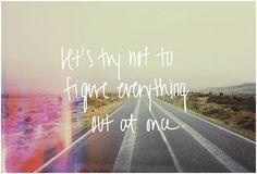 TAKE TIME . . .