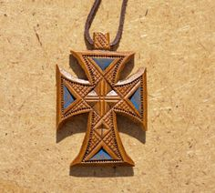 Carved Wooden Cross >>> Additional details at the pin image, click it  : Wall Crosses