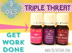 """Apply this combo for a great """"get it done"""" day! Check out more at www.oilthetime.com"""