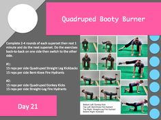 5 Quick Booty Burners | Redefining Strength