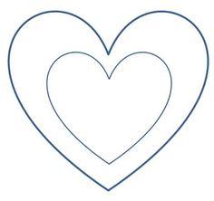 Vorlage Herz Zum Ausdrucken Google Suche Nhen