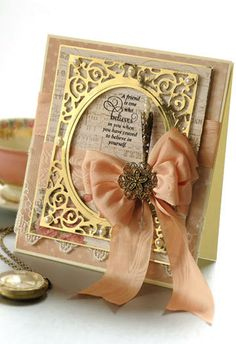 Filigree Delight Card - Crafts n things