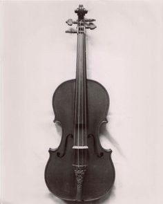 "The famous ""Messiah"" violin made by Antonius Stradivarius, 1716."