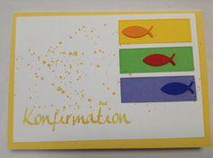 Konfirmation Fisch bunt