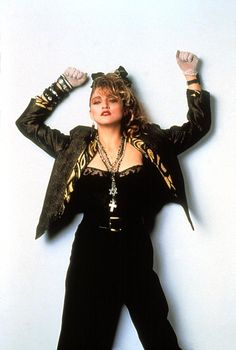 80s fashion love her music from  the 80's!!!!!!