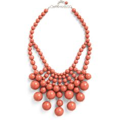 What About Bauble? Necklace in Rich Mauve ($22) ❤ liked on Polyvore