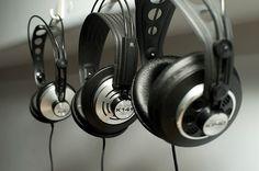 Vintage AKG Headphones -K140 - K141 - K240 Sextett