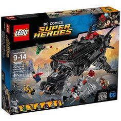 Lego DC Comics Super Heroes Flying Fox: Batmobile Airlift Attack 76087 Building Toy