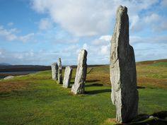 Callanish Standing Stones on the Isle of Lewis
