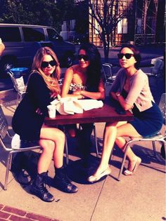Ashley, Shay and Troian