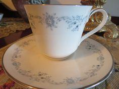 Royal Doulton Tea Cup and Saucer  Angelique by AntiquesandCoinsJL