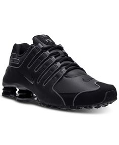 Nike Men's Shox NZ Shoes - Black