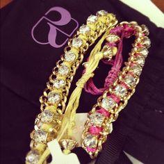 @davist33 snagged the @birchbox buried baubles!  love these bright bracelets!!